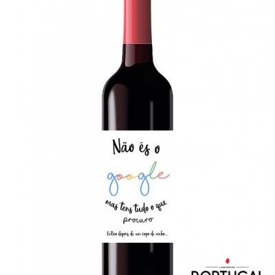 Garrafas de Vinho Personalizadas