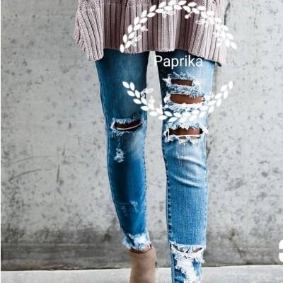 Jeans Rasgadas