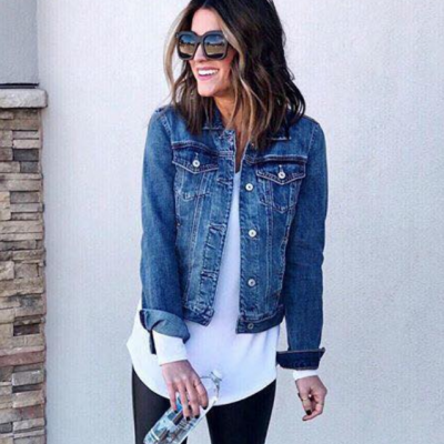 Blusão Jeans BASIC