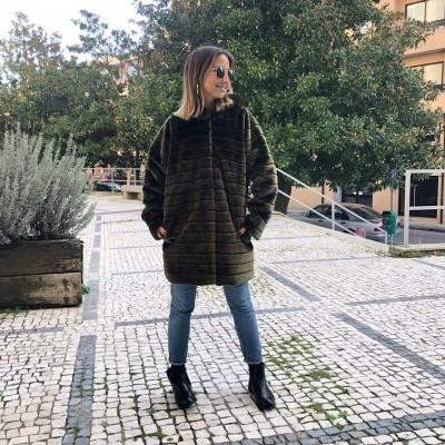 Casaco Furry