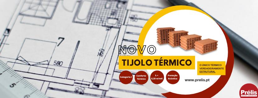 Nova gama de Tijolo Térmico já disponível