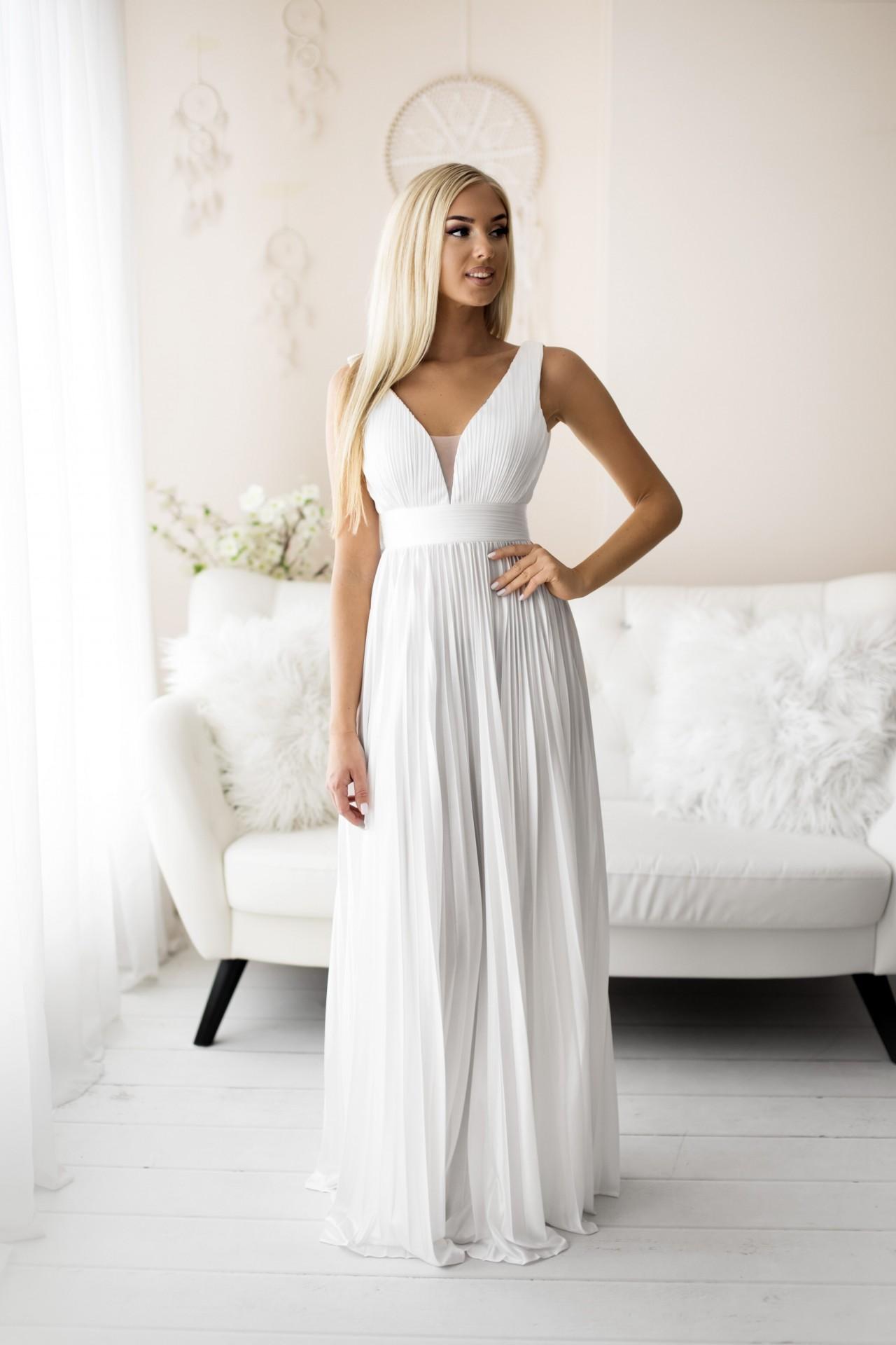 Vestido Marli Branco