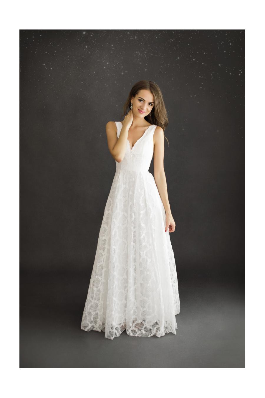 Vestido Silvana Branco