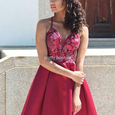 Vestido Melanie Curto