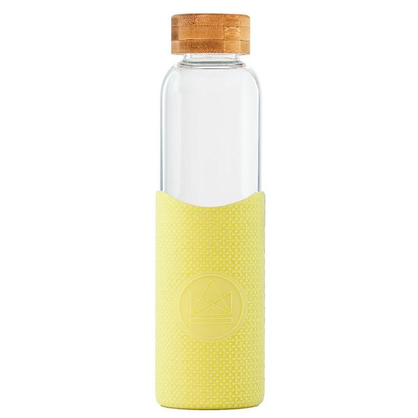 Garrafa reutilizável Amarelo