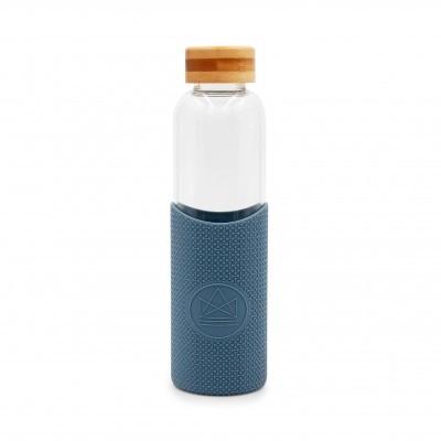 Garrafa reutilizável Azul Petróleo