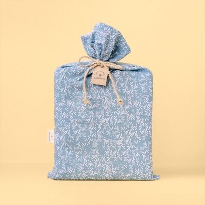 Têxteis de Cama - Pixel Azul