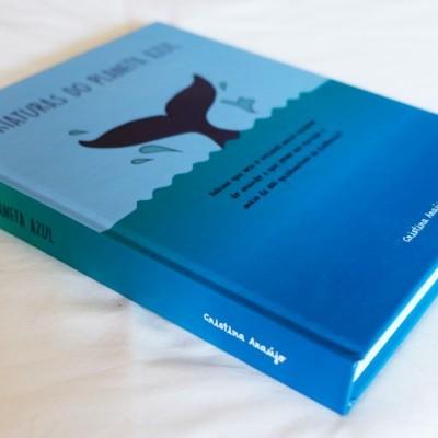"""Livro """"Criaturas do Planeta Azul"""""""