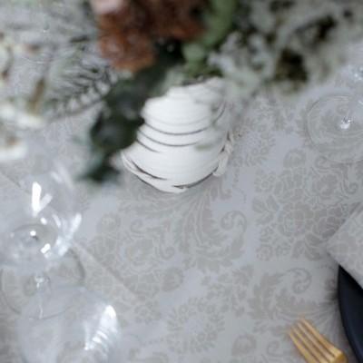Toalha de mesa Damasco Bege
