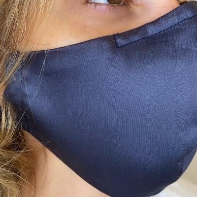Máscara Social Azul Petróleo