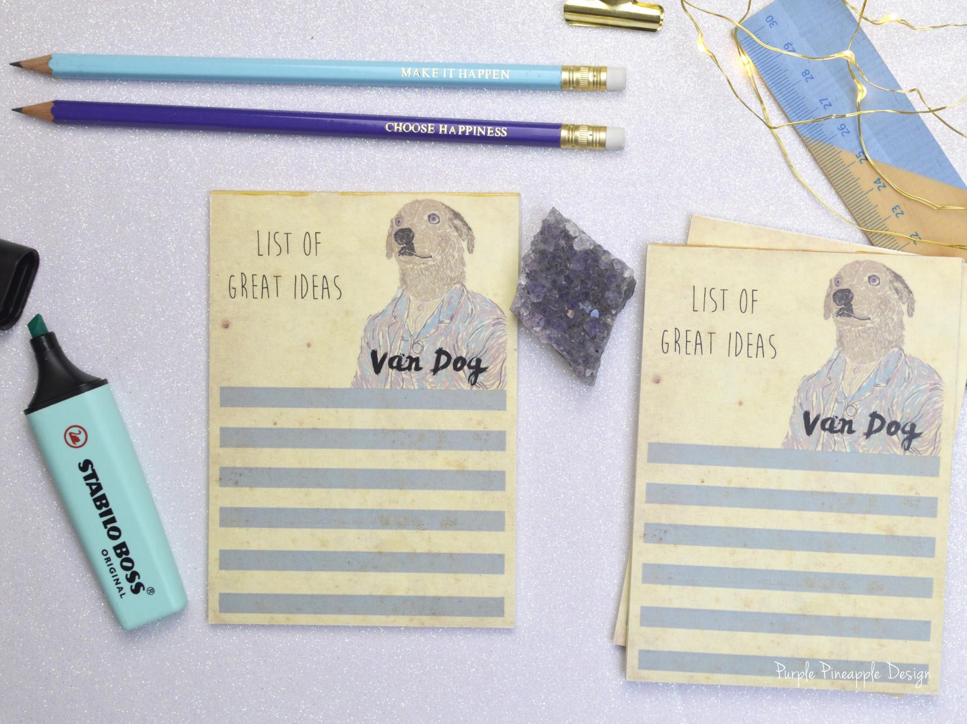 Van Dog: List of great ideas