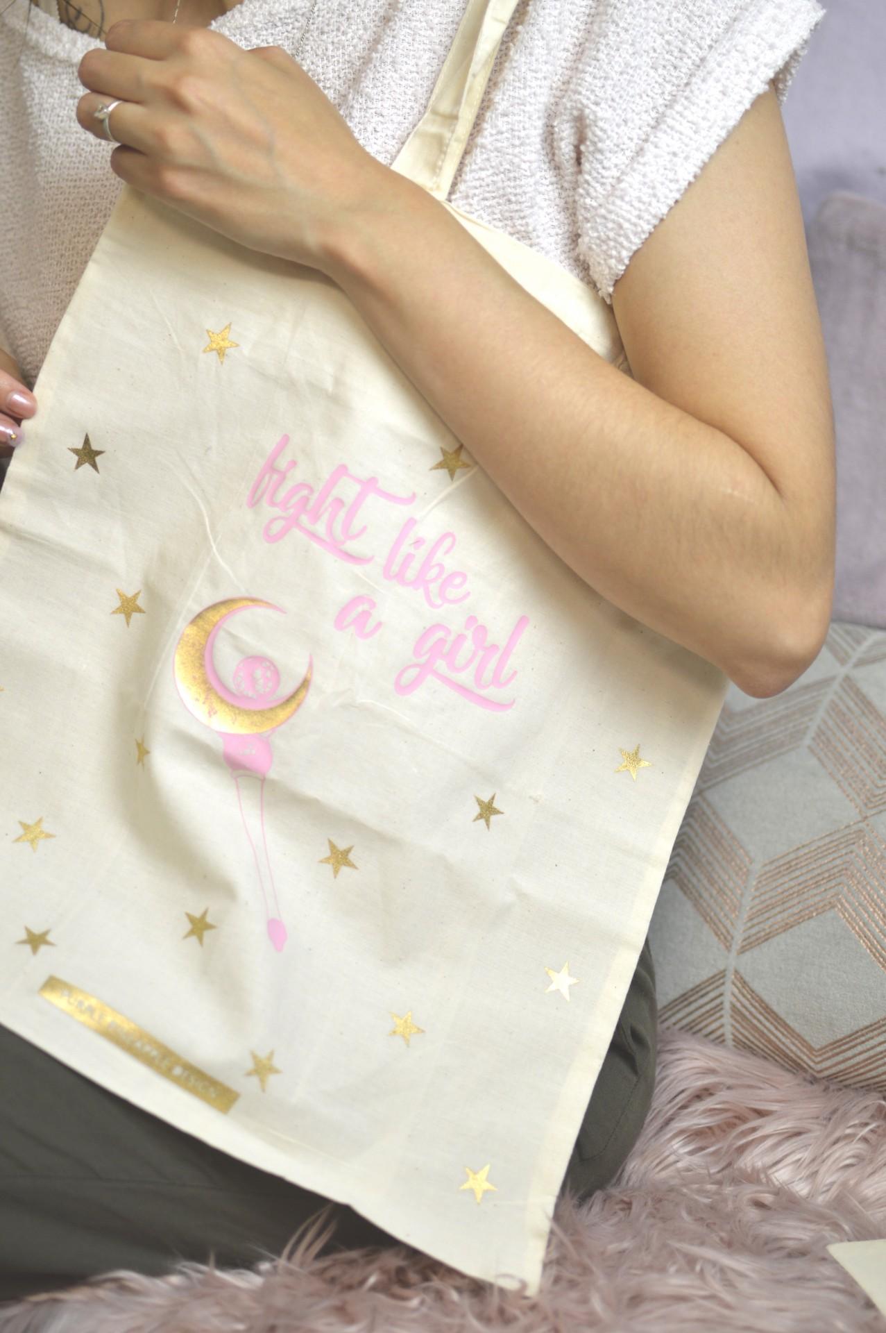 Tote Bag ☾ Fight like a girl ☽