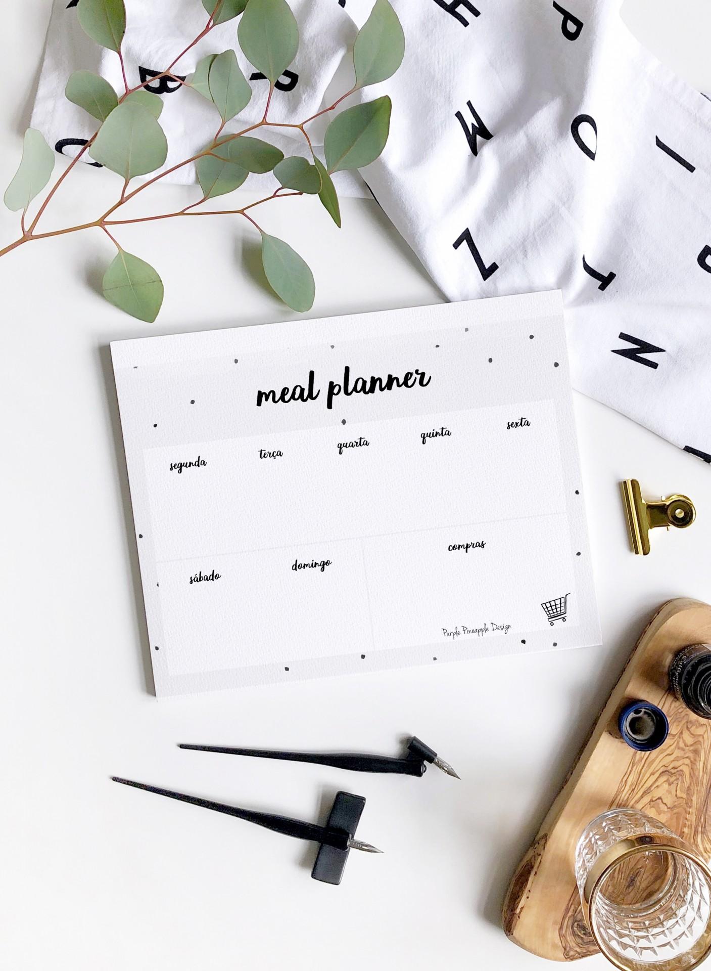 Printable - Meal Planner Digital