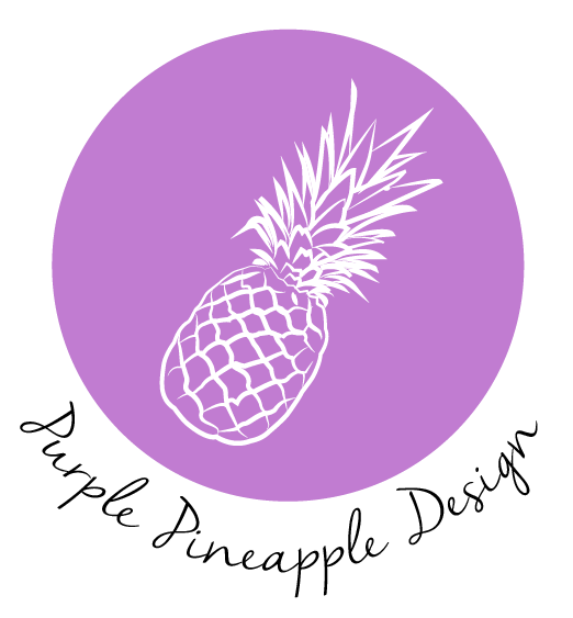 Purple Pineapple Design