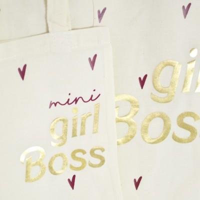 Mini Tote Bag ♥ Girl Boss & Future Ceo