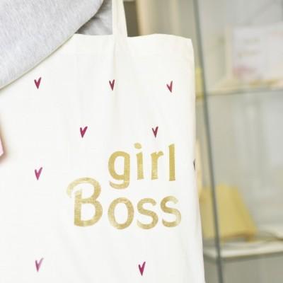 Tote Bag Girl Boss ♥