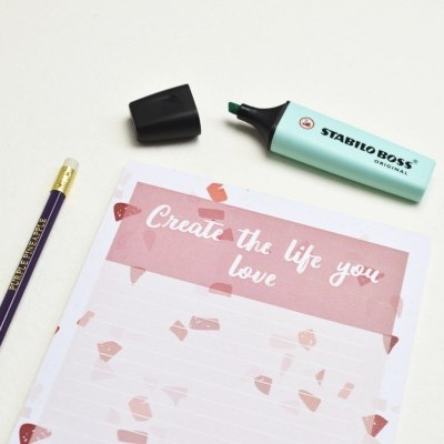 Create the life you love - Planner Semanal