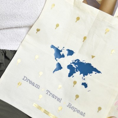 Tote Bag Dream ★ Travel ★ Repeat