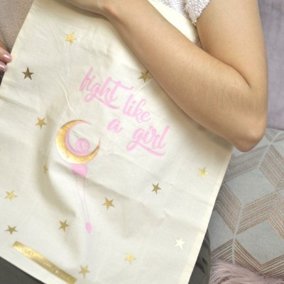 Tote Bag ☾ Fight like a girl ☽