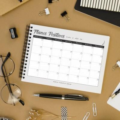 Printable - Planner Mensal Digital
