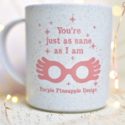 Caneca ✧ You're just as sane as I am ✧