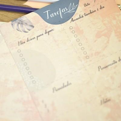 Planner de Tarefas - Tropical terracota