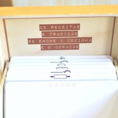 Caixa  de Receitas - Alhos e Bugalhos
