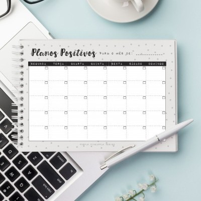 Printable - Planner Mensal Digital