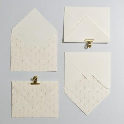 Envelope Padrão geométrico Rose