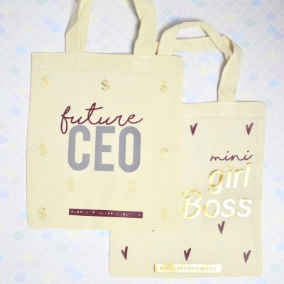 Mini Tote Bag ♥ Girl Boss & Future Ceo