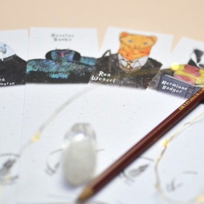 Marcadores Personagens Potterhead