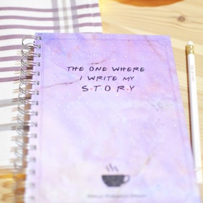 Caderno The one where I write my  S•T•O•R•Y