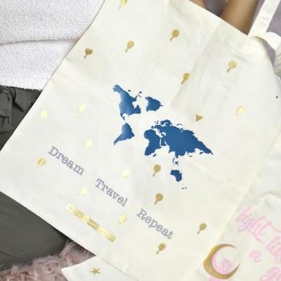 Tote Bag Dream ★ Travel ★ Repeat