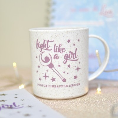 Caneca ★  Fight like a Girl ☽