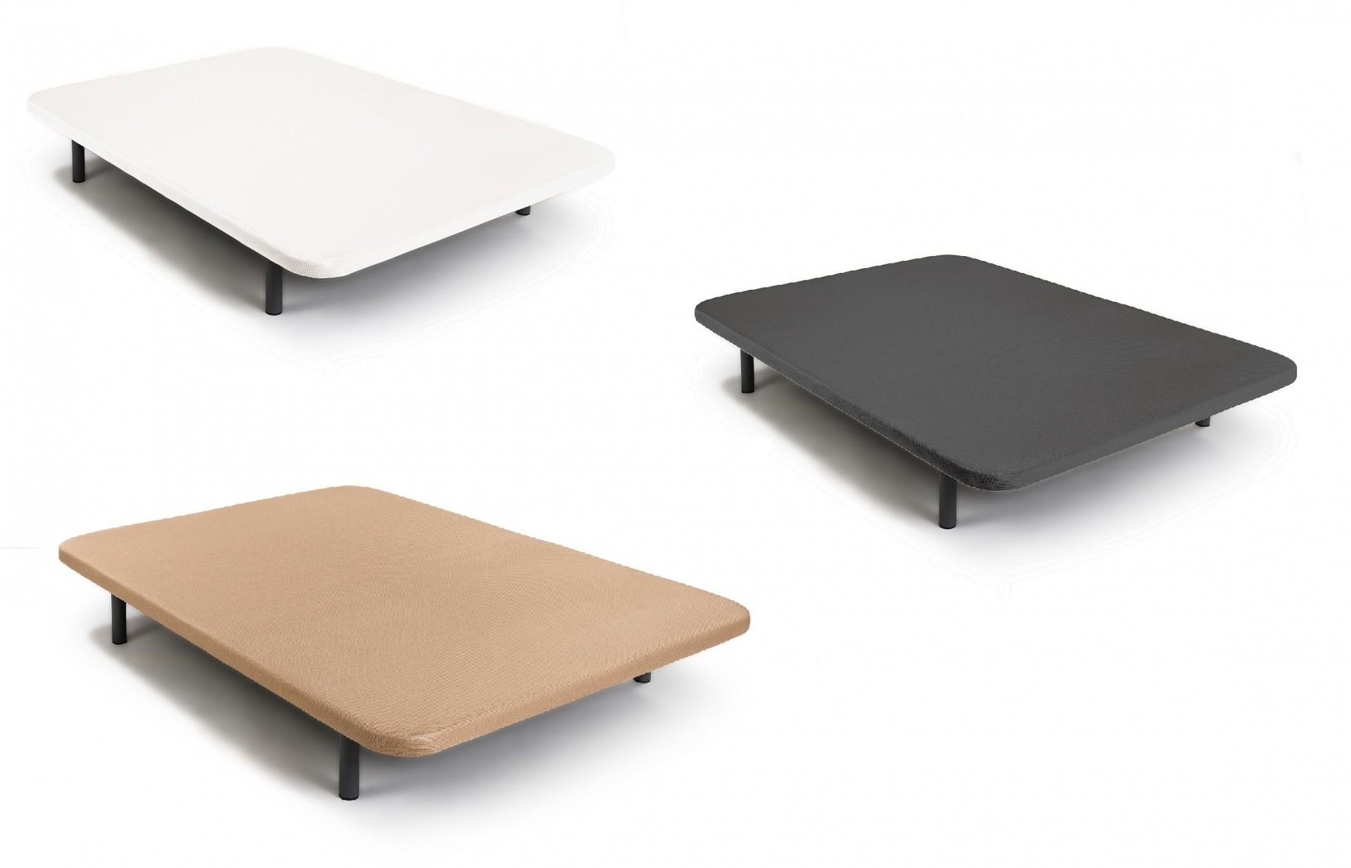 Base Tapizada Solteiro ou Casal - disponível em 3 cores e 15 medidas