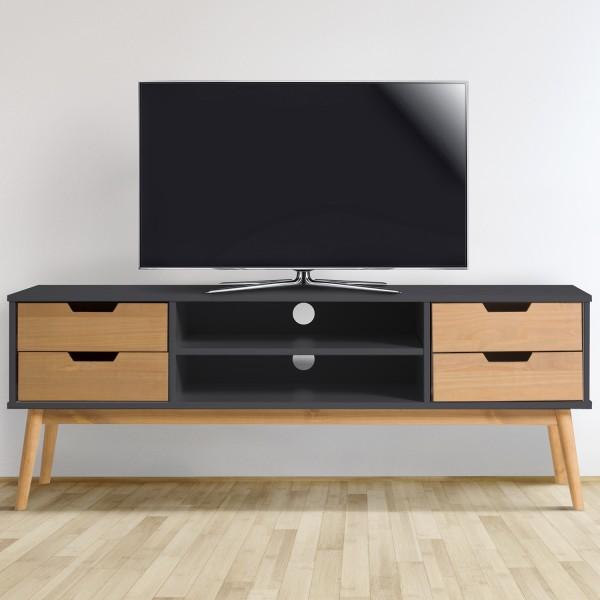 Móvel de Tv estilo nórdico - disponível em 2 cores