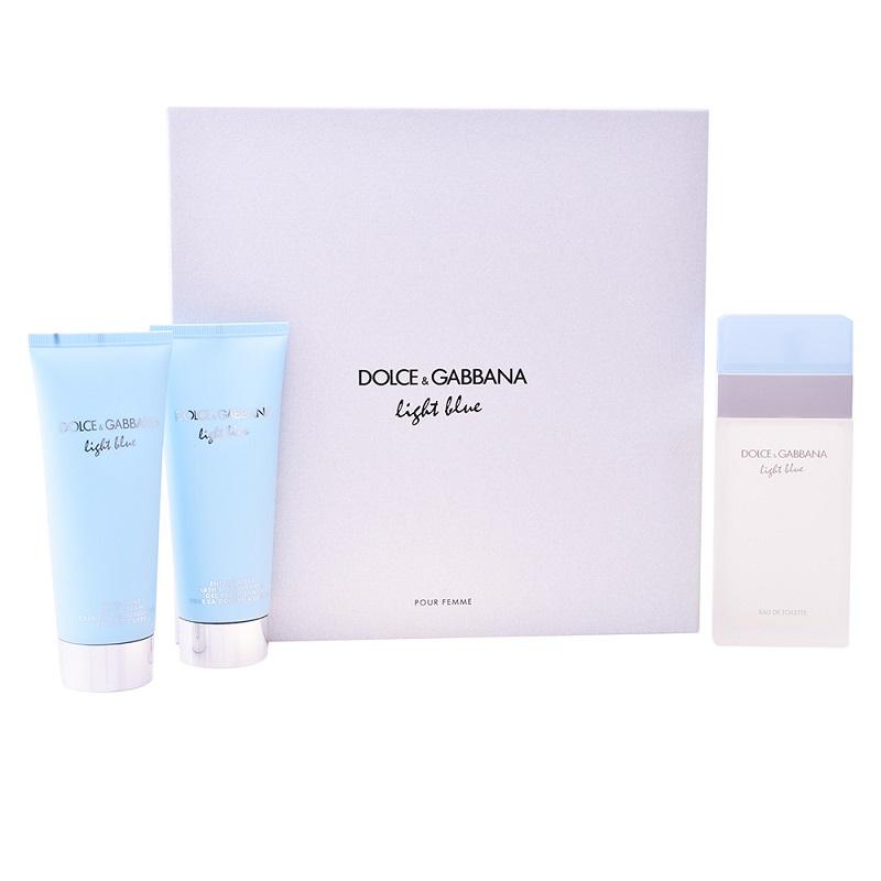 Coffret Light Blue Senhora Lote 3 - Dolce & Gabbana