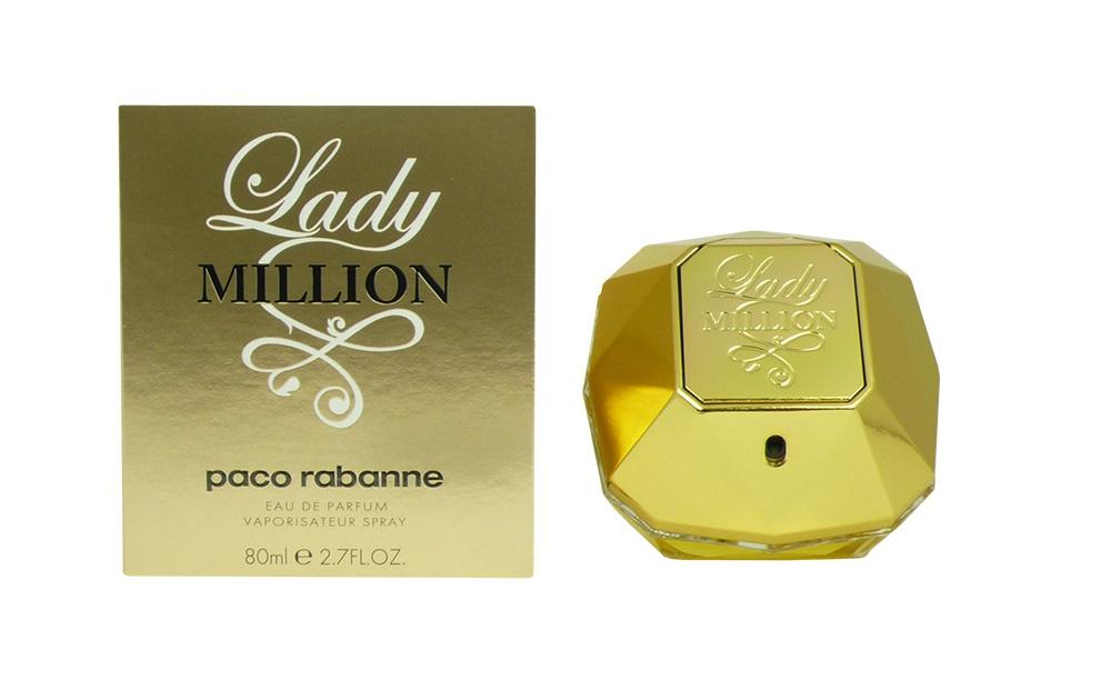 Lady Million edp 50ml ou 80ml - Paco Rabanne