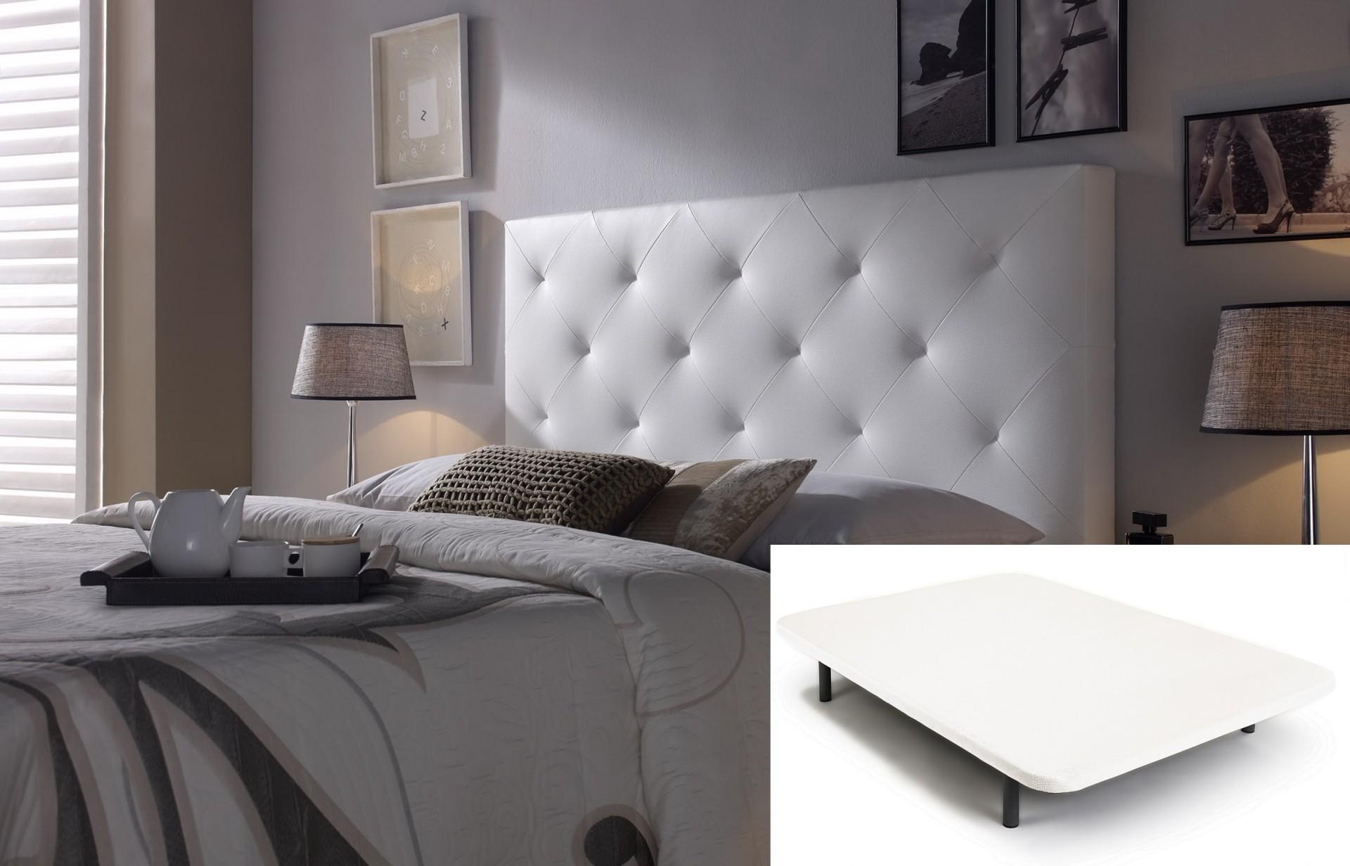 Cama Tapi + Cabeceira de cama - disponível em 3 cores e 6 medidas