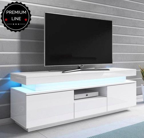 Móvel de Tv One com luz de presença LED - Disponível em 2 cores
