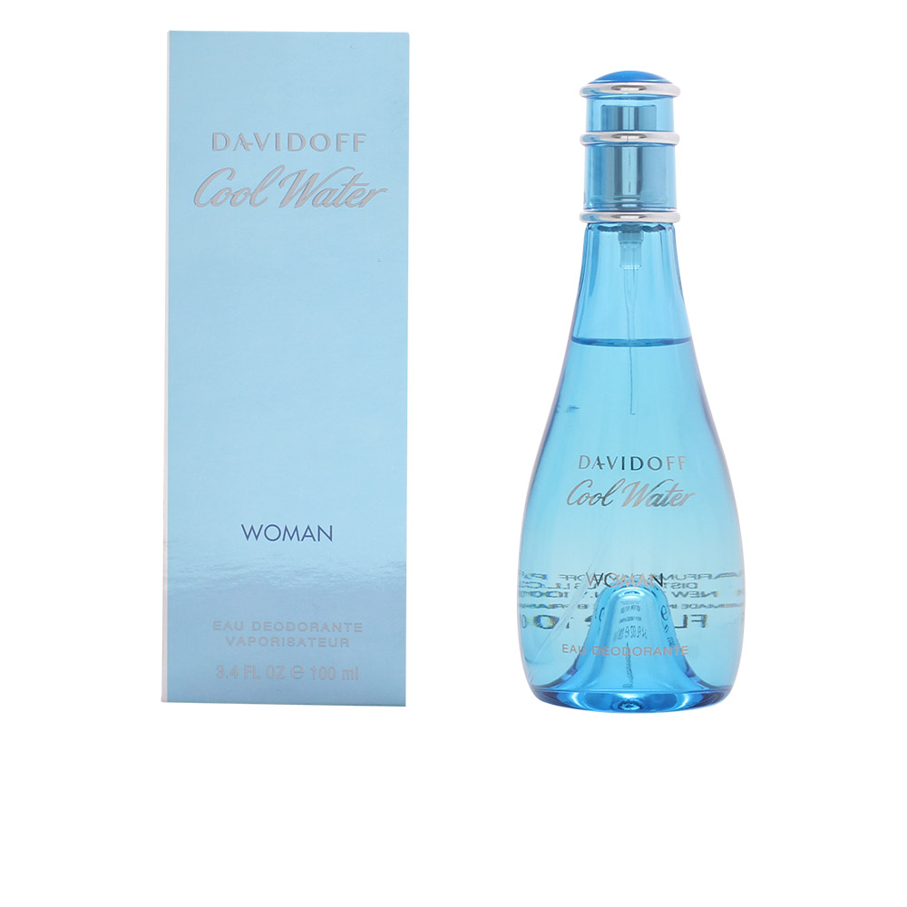 Davidoff Cool Water Woman desodorizante 100ml