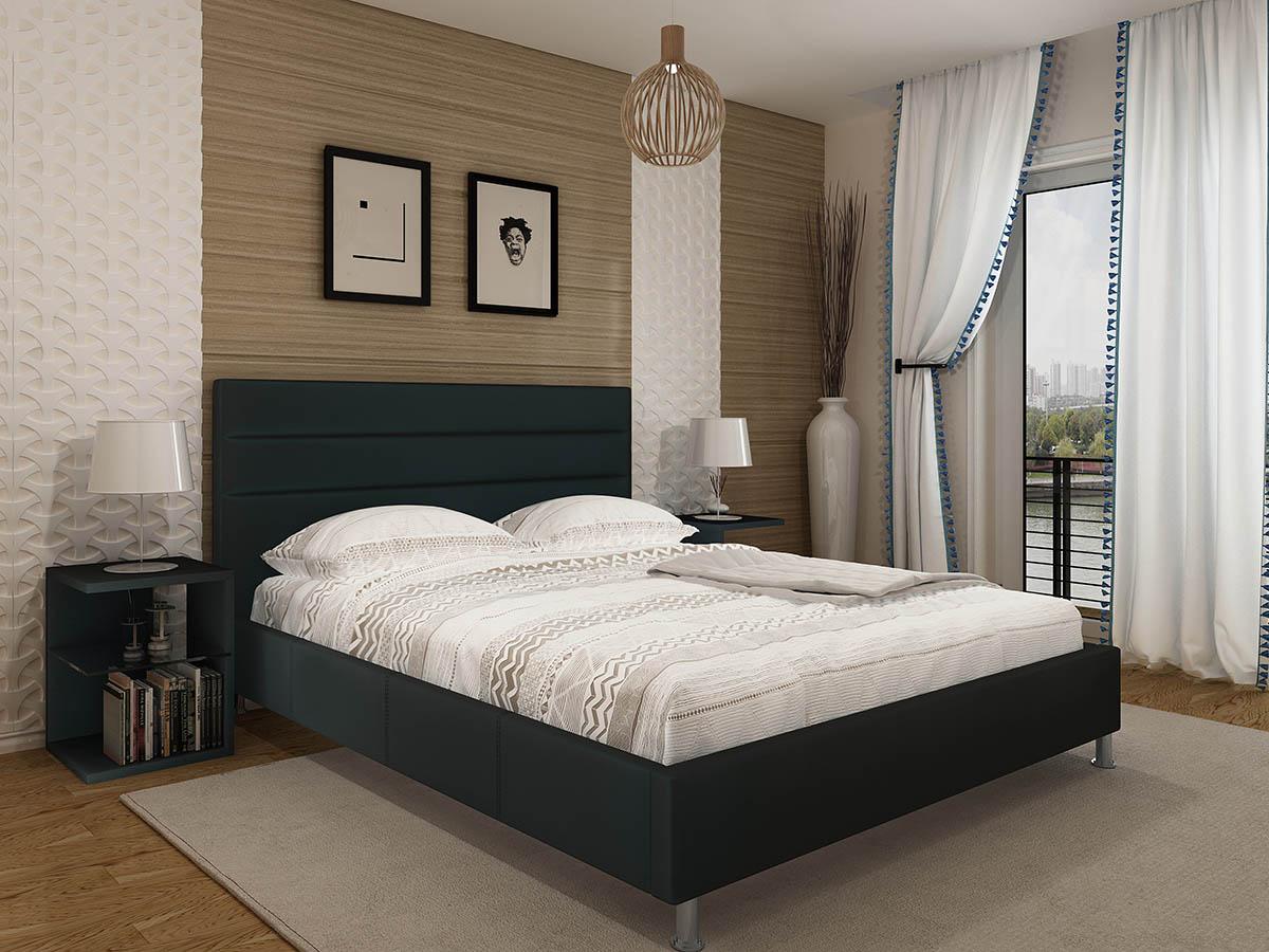 Cama de Casal Confort com estrado incluído - Disponível em 3 medidas e 2 cores