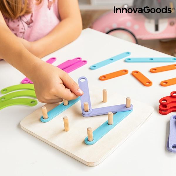 Jogo Educativo em Madeira - Método de aprendizagem Montessori