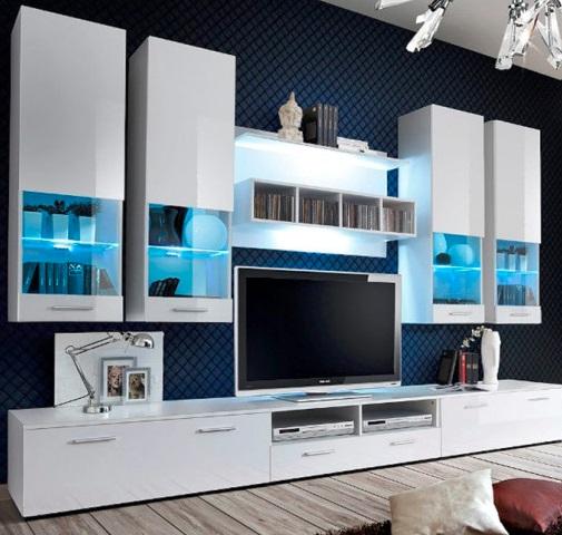 Móveis de Sala Nav com Luz de presença LED - Disponíveis em 3 cores
