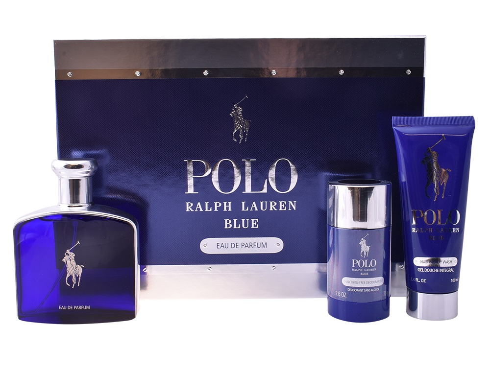 Coffret Polo Blue Lote 3 - Ralph Lauren