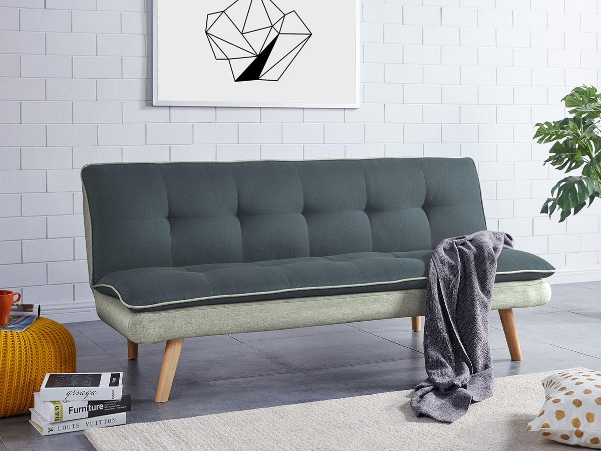 Sofá-Cama click clack - Disponível em 2 cores
