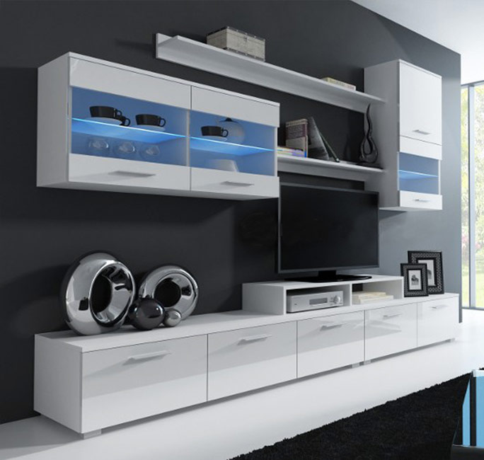 Móveis de Sala Luc - Disponível em 4 cores