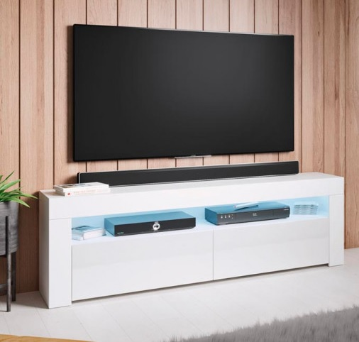 Móvel Tv Lay com luz LED - Disponível em 4 cores