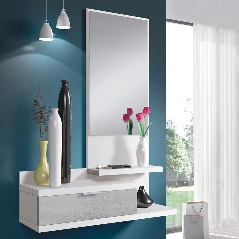 Móvel de Entrada com Espelho incluído