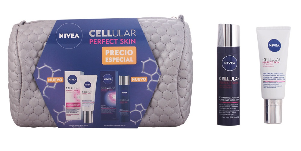 Lote Nivea Cellular Perfect Skin - Oferta bolsinha